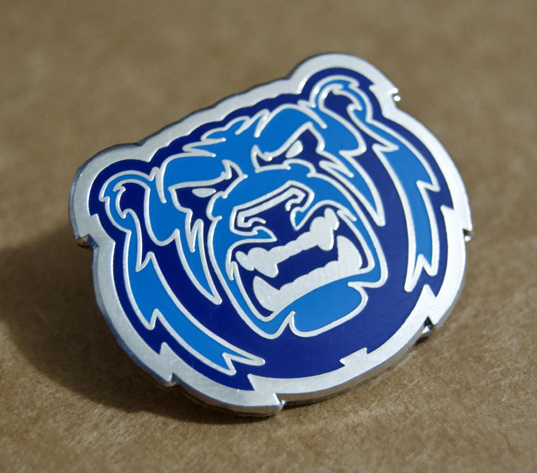 Bears exclusive pin badges (3 cm across)