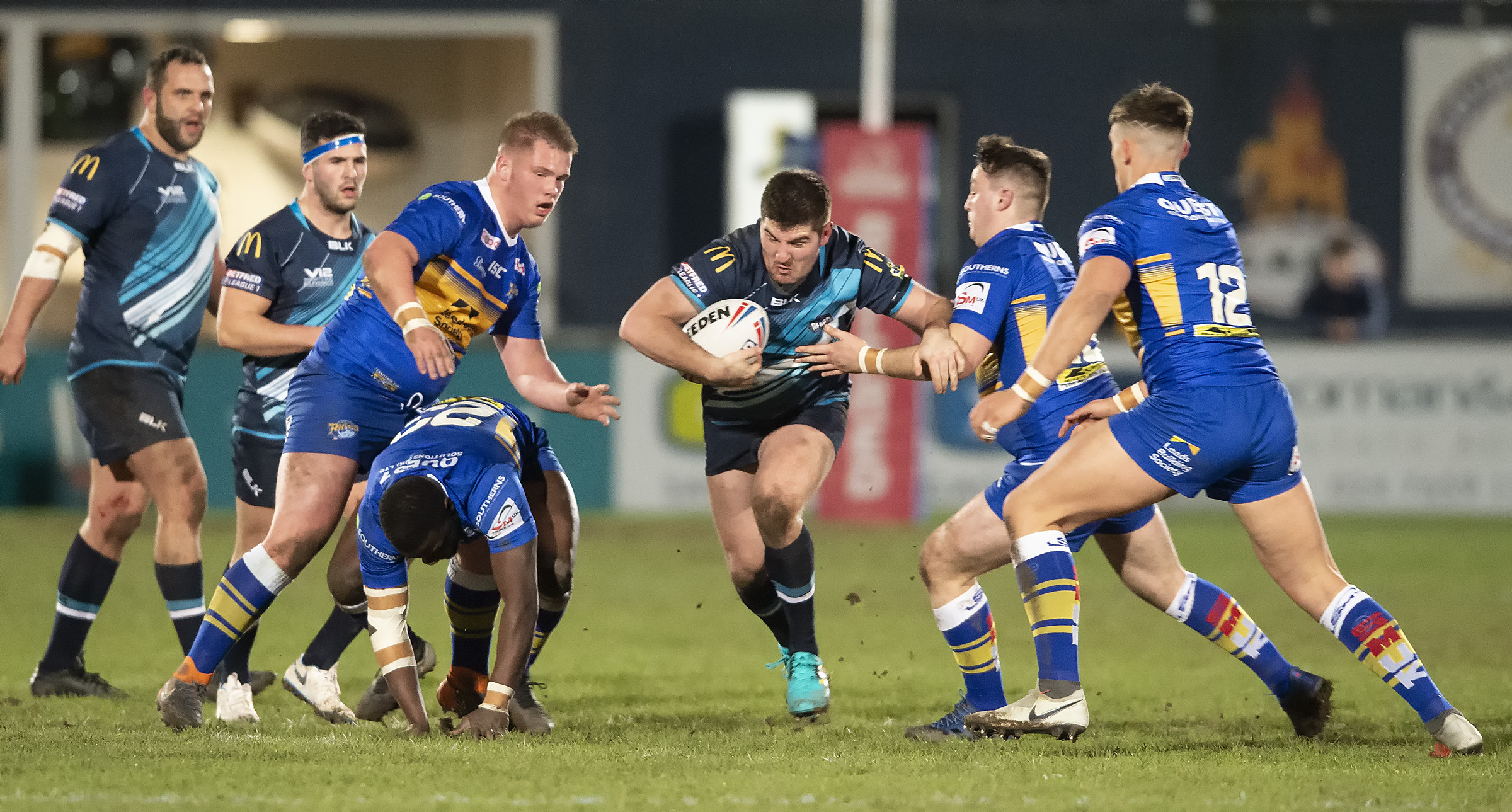 Bears in action this January v Leeds Rhinos