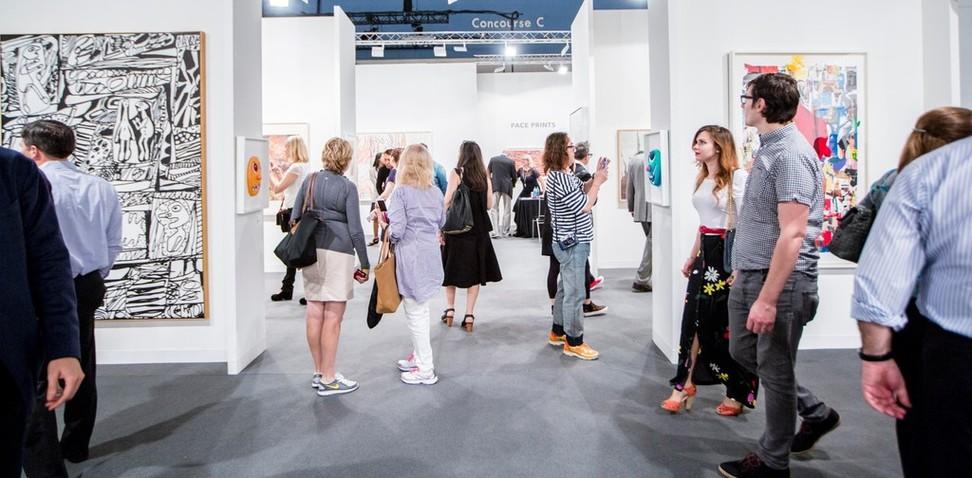 Alan Cristea Gallery Art Basel in Miami Beach 2014. Photo: artfixdaily.com