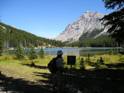 Figure 1-2. Elbow Lake, at Elbow Pass.