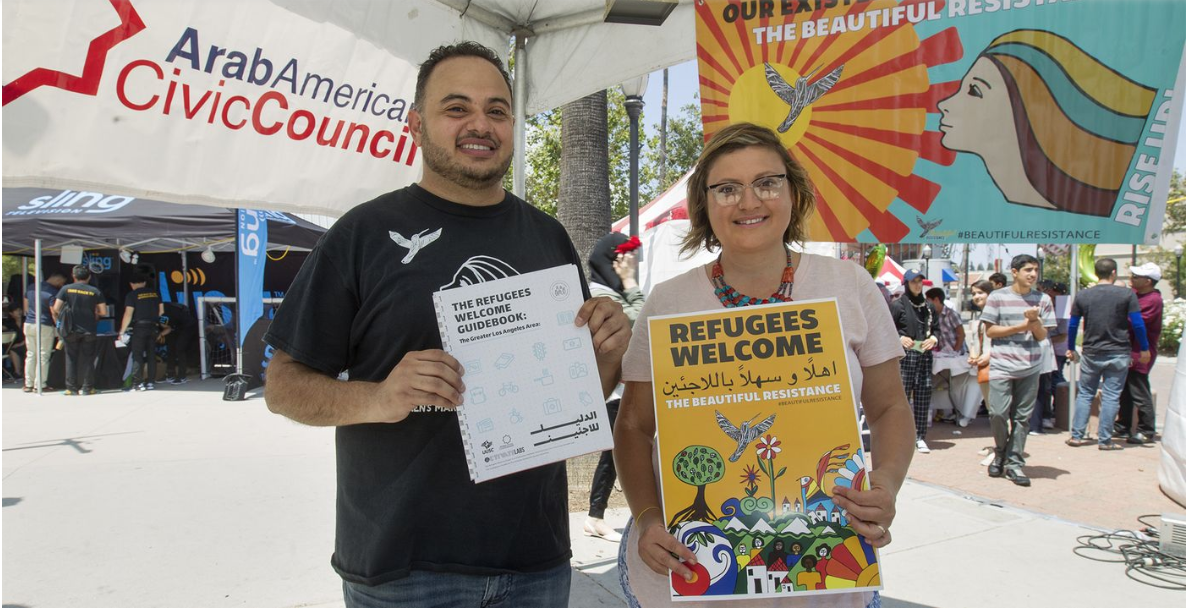 Los Angeles Times:Refugees Welcome -