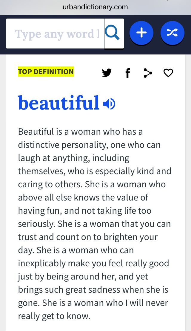 This is the kind of beautiful I want to put first. Above external beauty. 💕