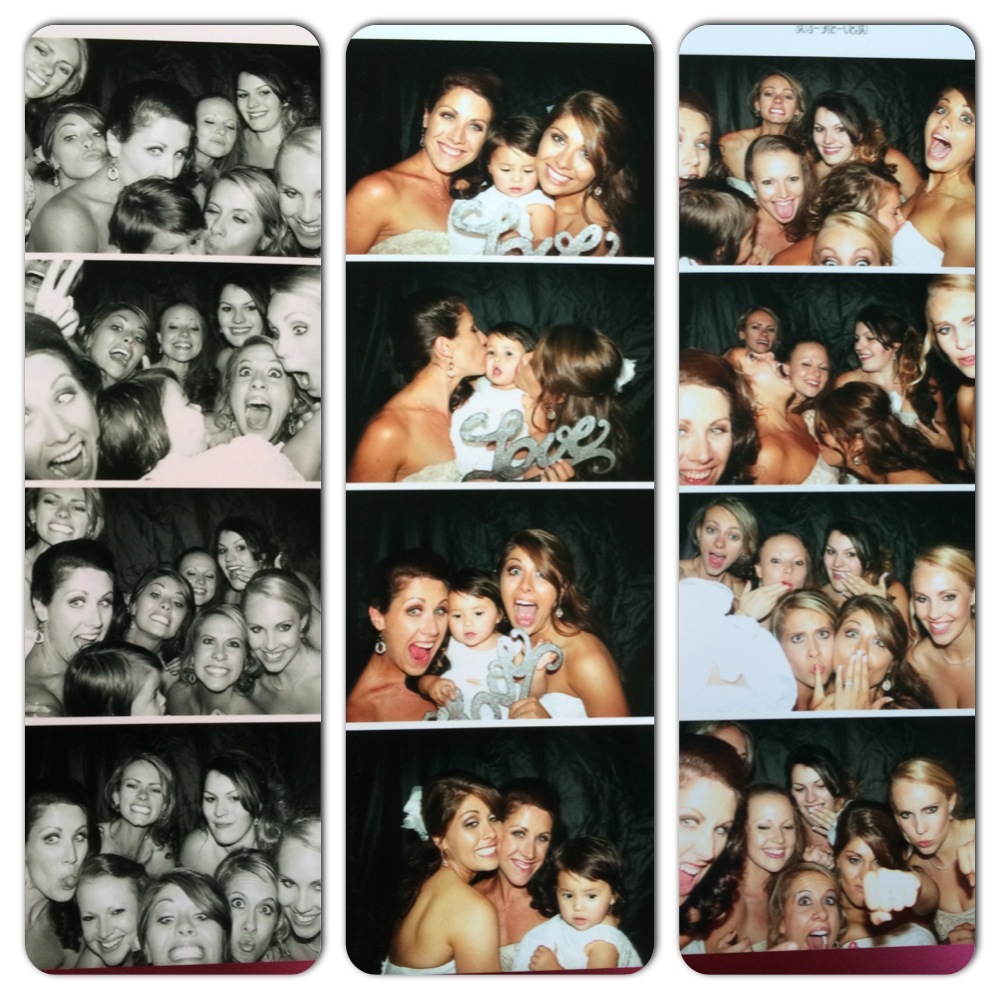 we had a photobooth at the reception! Such a blast!!!!
