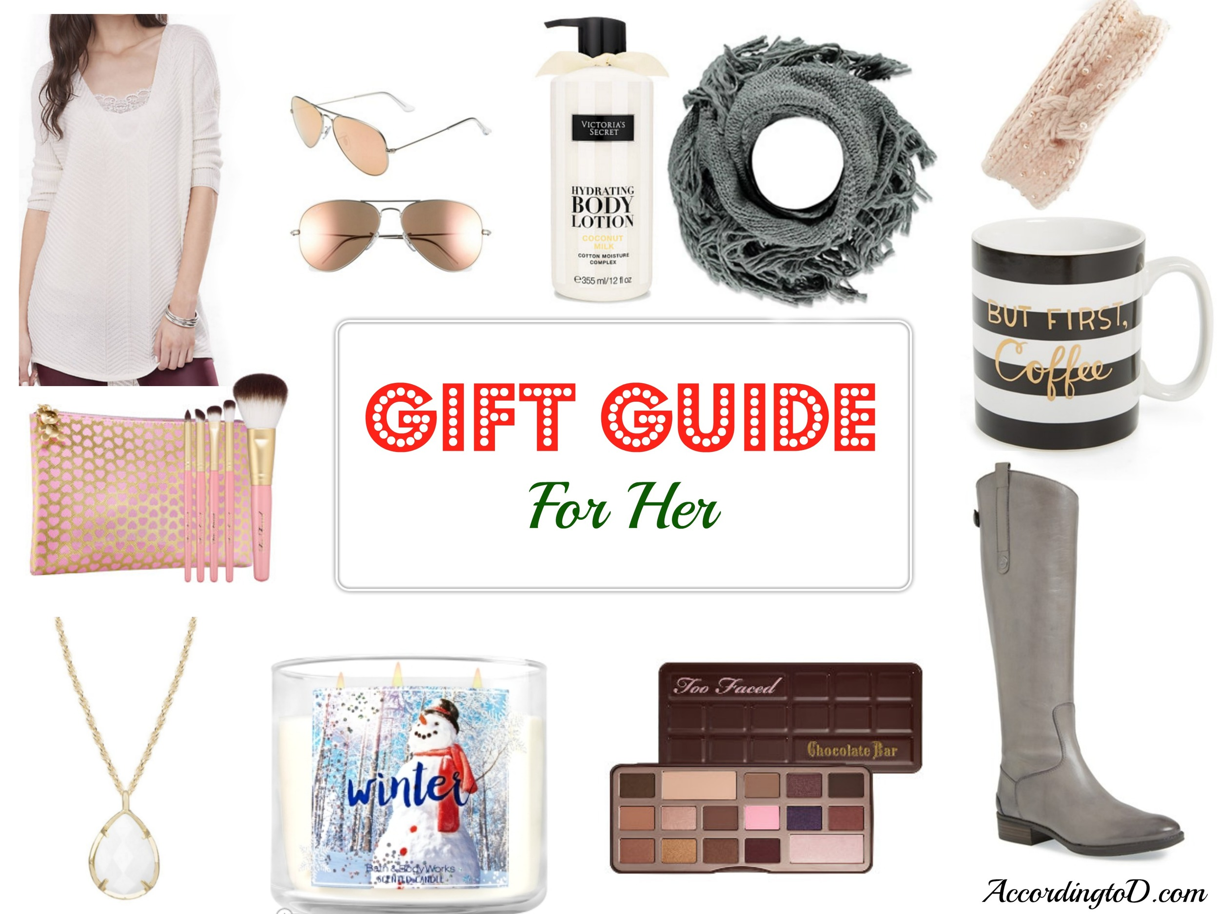 Gift guide for her on every budget