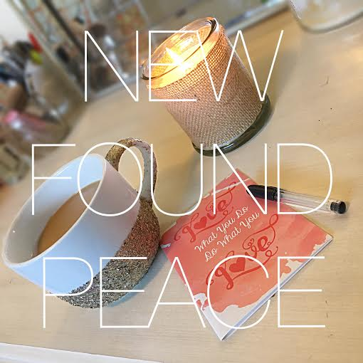 New found peace