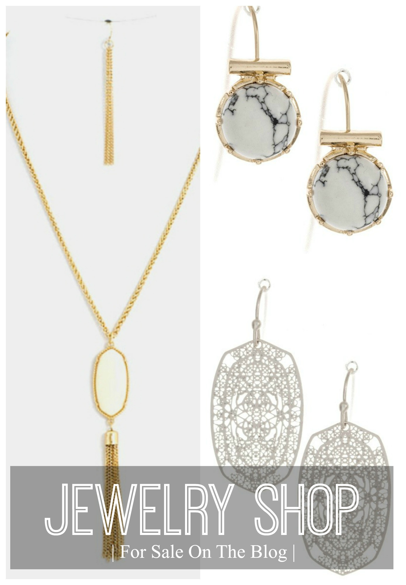 jewlery for sale on the blog