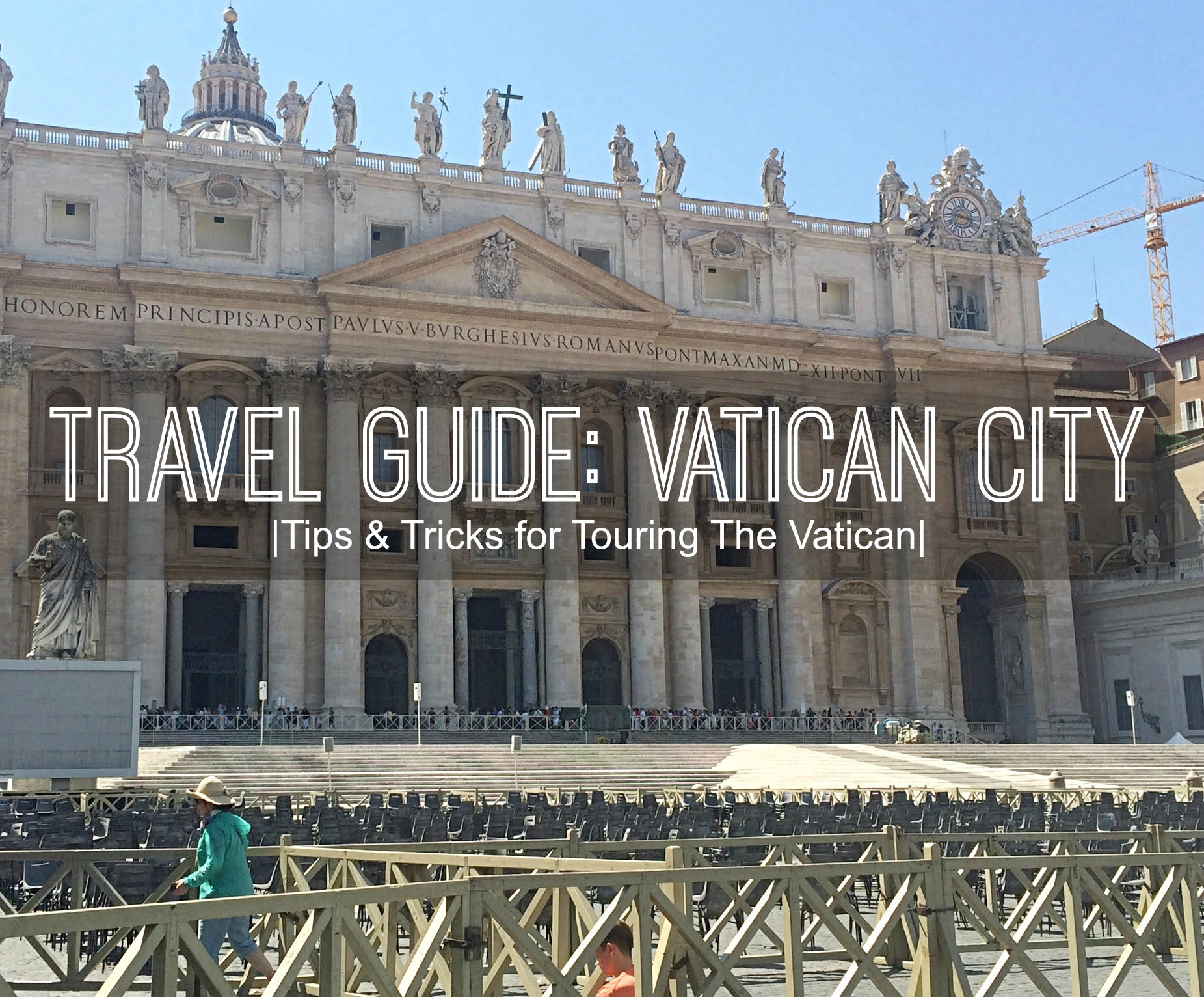 travel guide : the vatican city