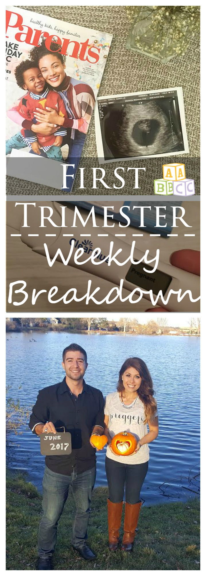 first trimester weekly breakdown