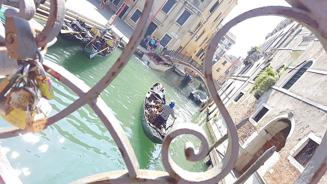 gondola ride in venice italy