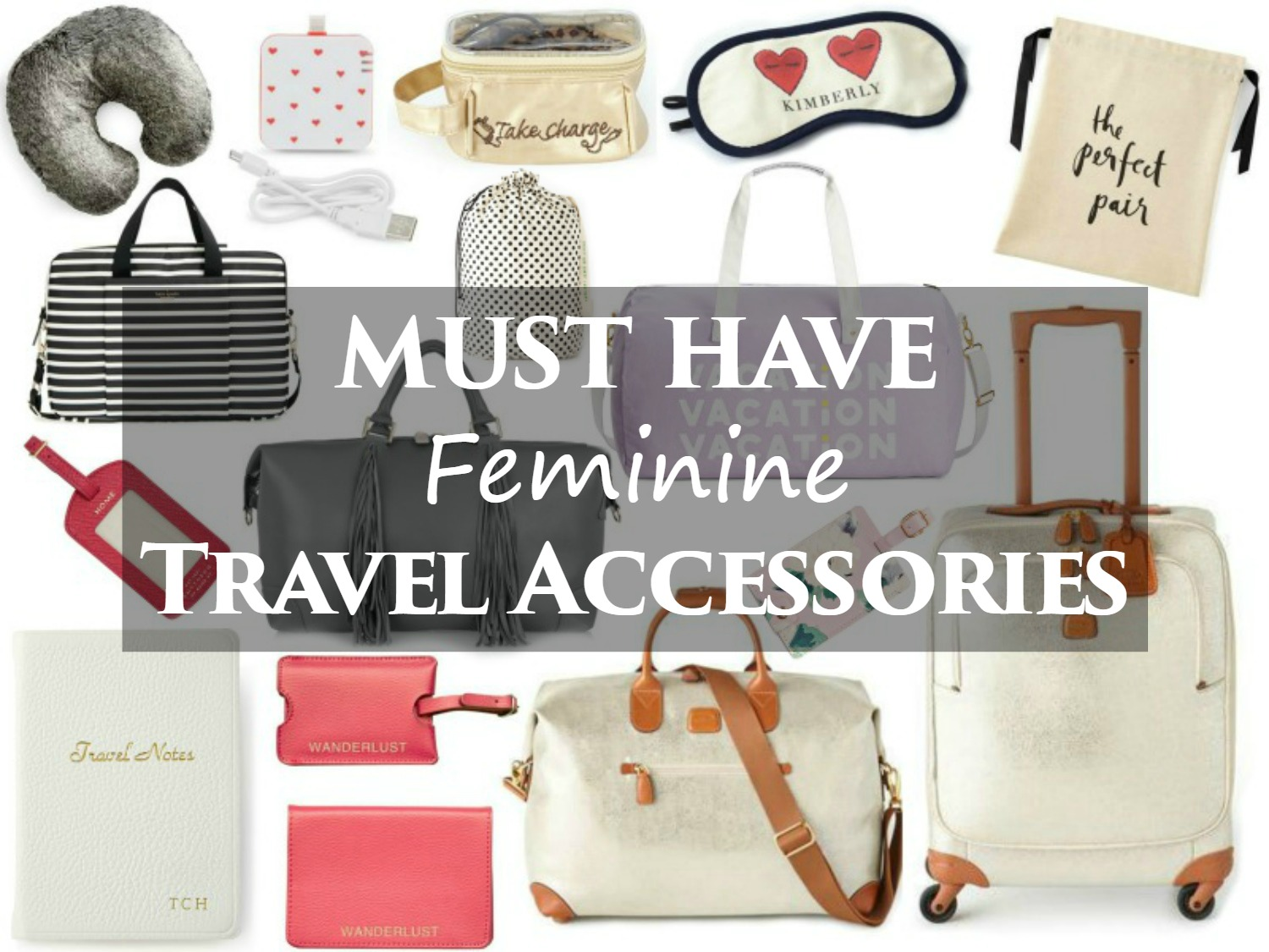 must have feminine travel accessories