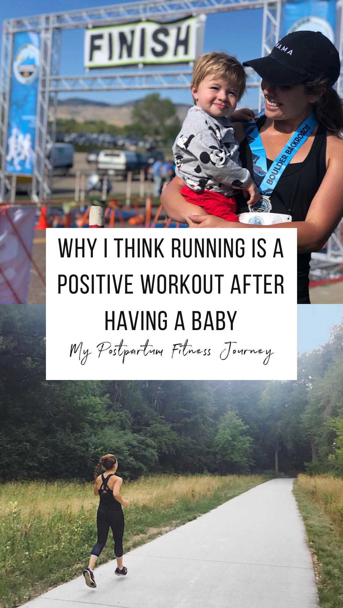 postpartum fitness journey why running is a positive thing