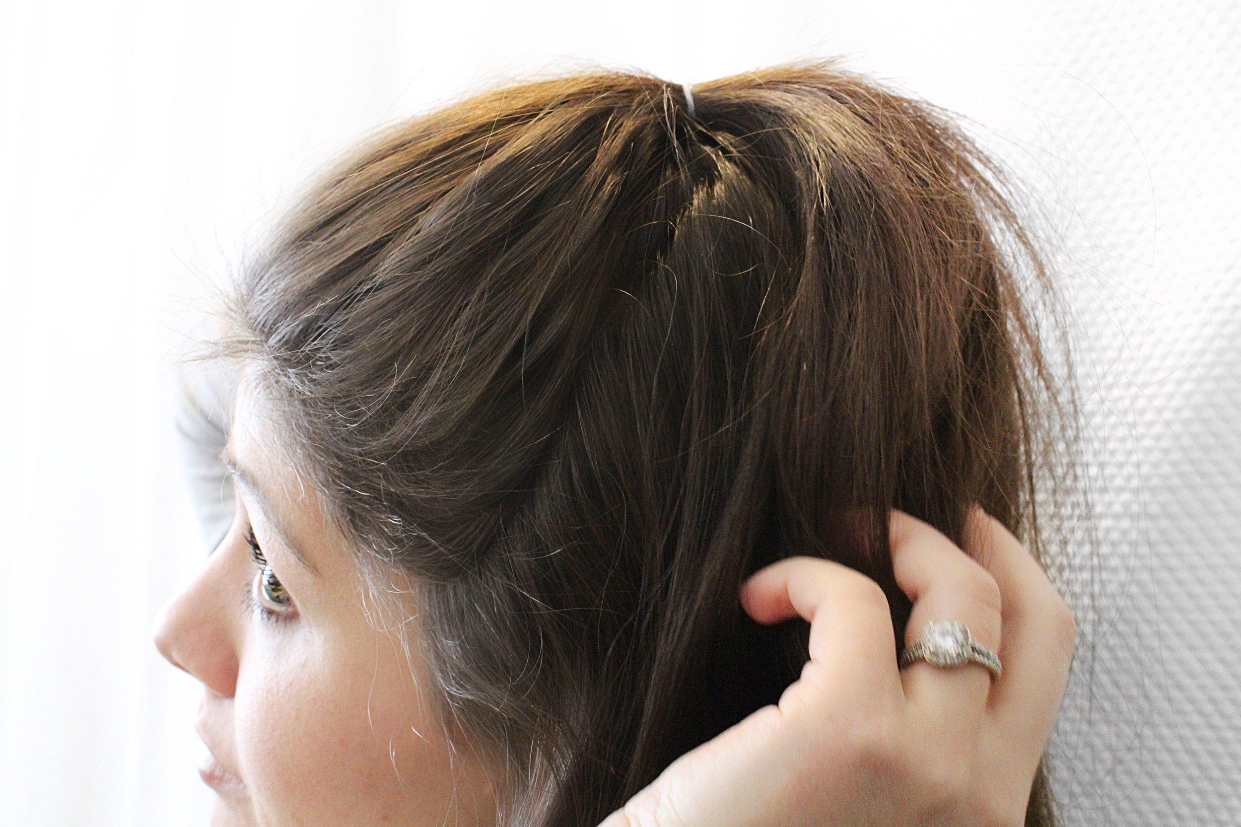 travel day hair tutorials