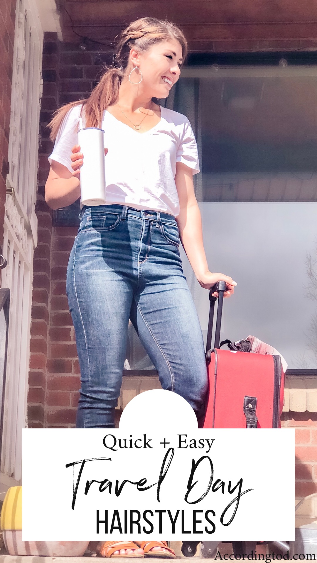 TRAVEL DAY HAIRSTYLES QUICK AND EASY HAIRSTYLE IDEAS