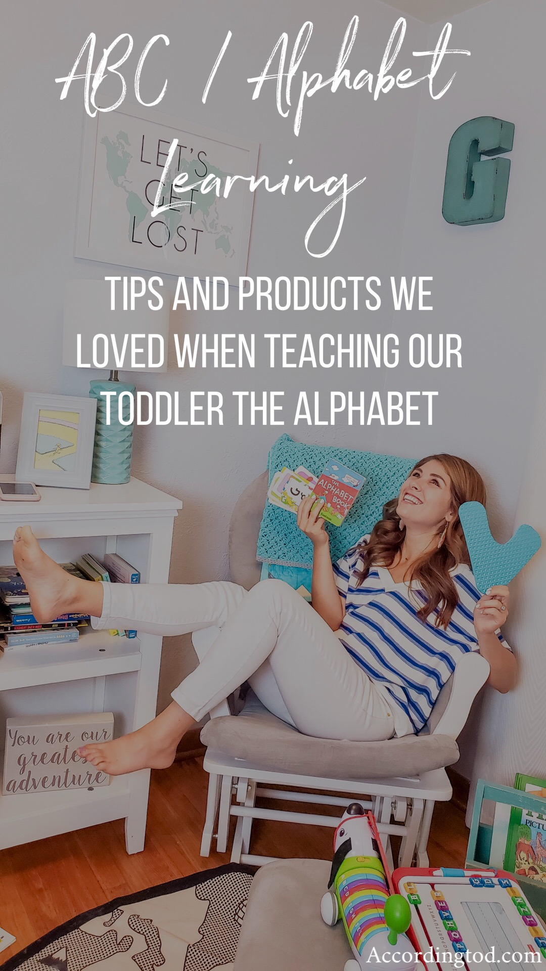 teach toddler the alphabet products and tips