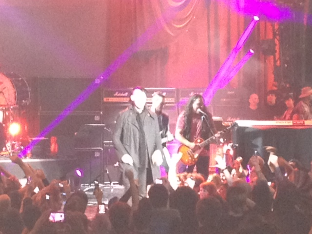 PLAYING WITH MANSON AT THE GREEK