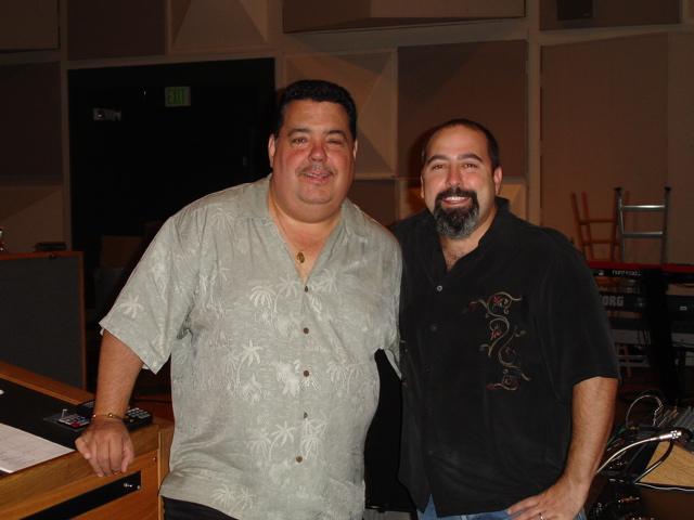 With Trumpet master Rick Baptiste