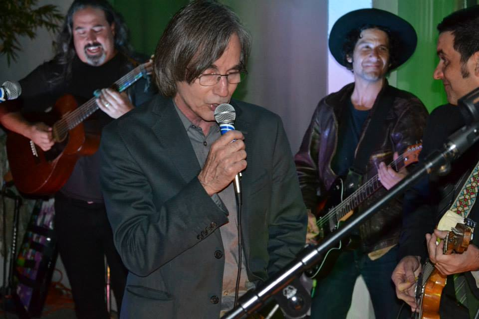 Playing with Jackson Browne, Charlie Musselwhite, Chris Scianni and Christopher Thorne