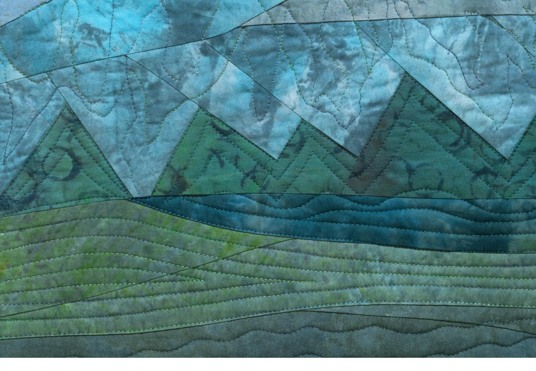 Tahoe Blue, detail