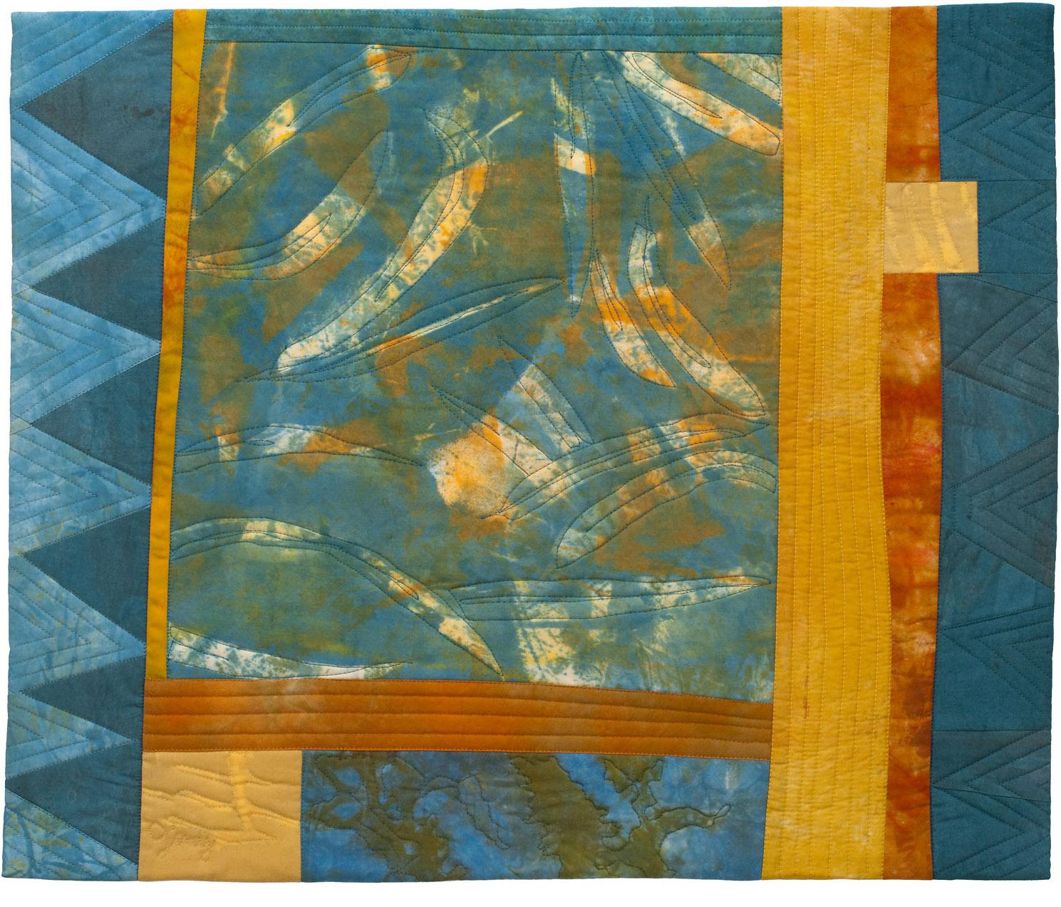 "Eucalyptus Shadows, 24"" wide x 20"" high, 2014"