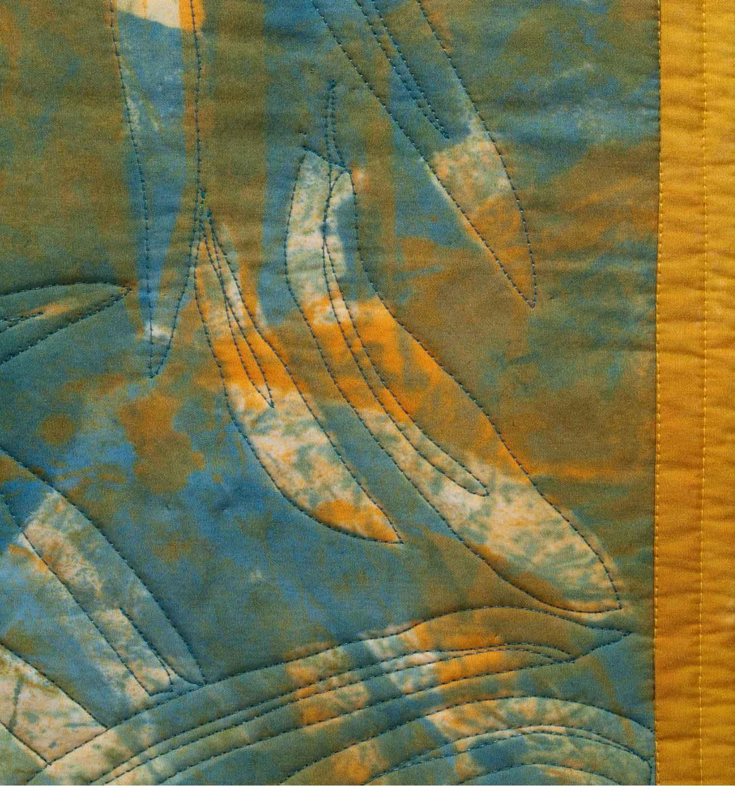 Eucalyptus Shadows, detail