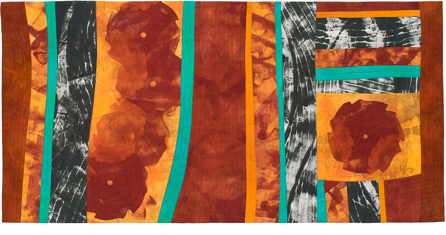 "Sawblades 7, 40"" wide x 20"" high, 2014"