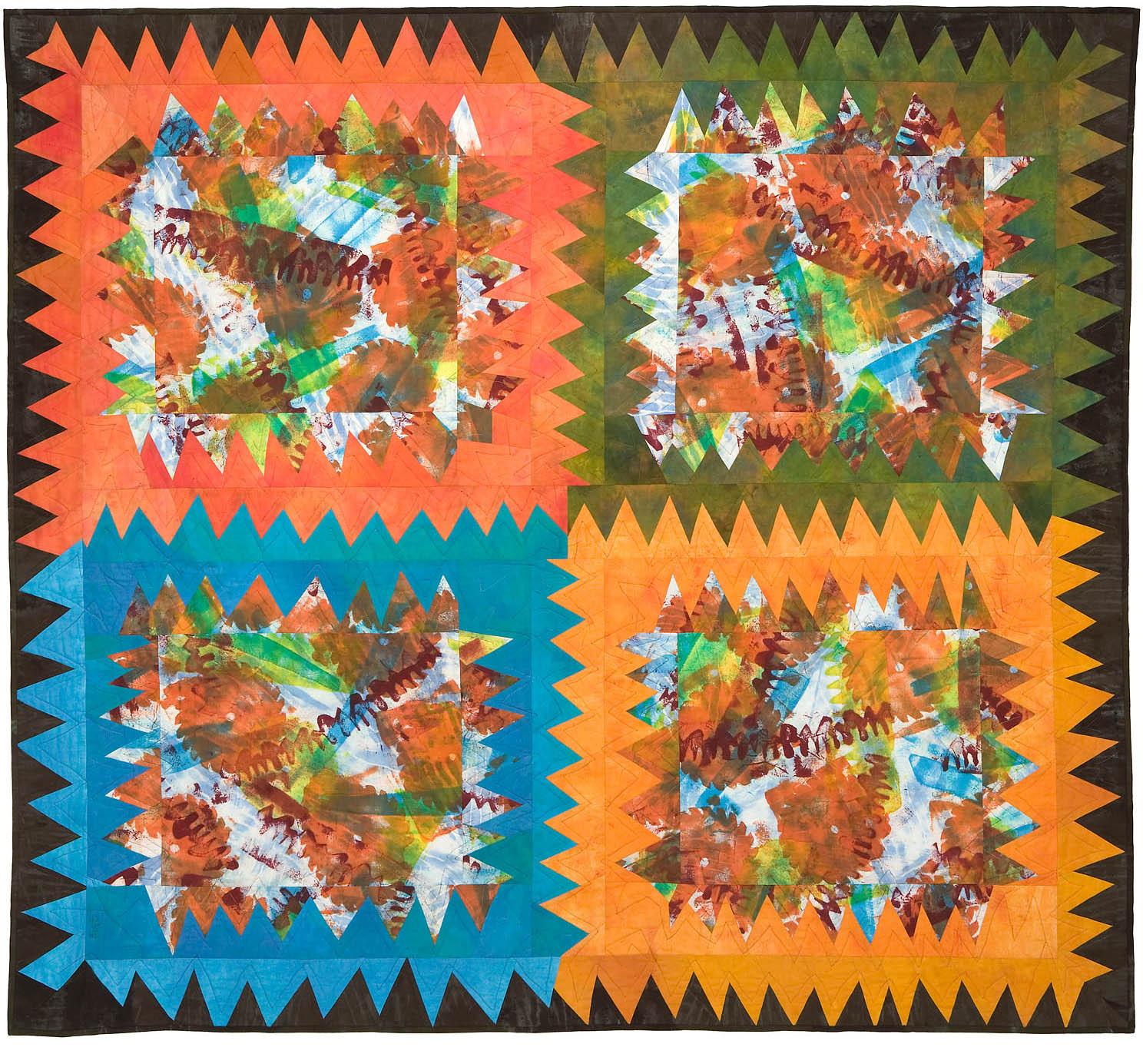 "Sawblades, 68"" wide x 61"" high, 2007"