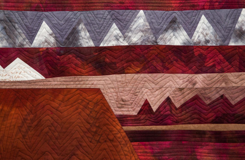 Sawblades 11-Southwest Landscape, detail