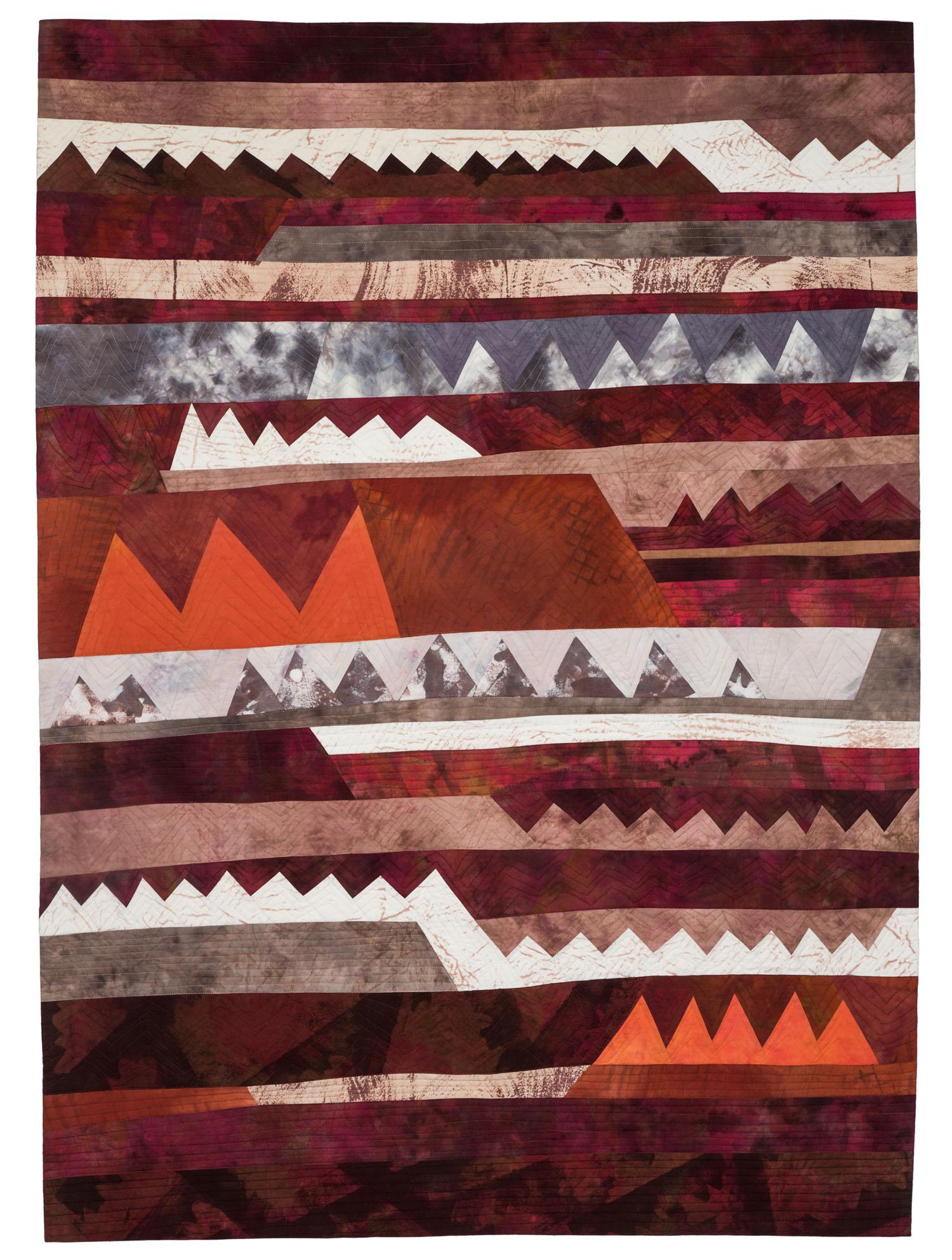 "Sawblades 11-Southwest Landscape, 41.5"" wide x 58"" tall, 2016"