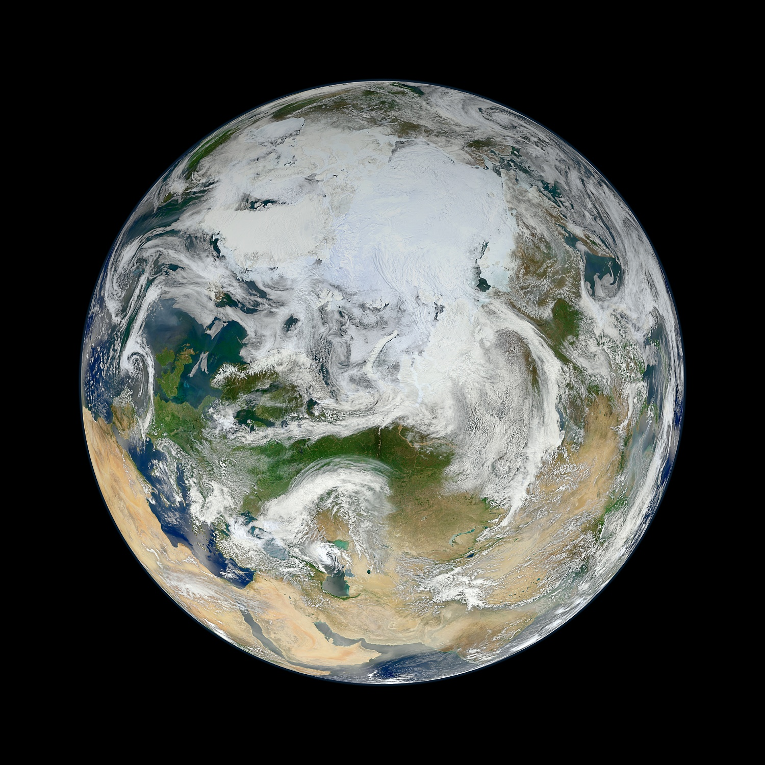 Earth photograph from  here .