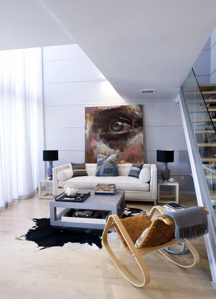 Jerome's Work in a Brooklyn Duplex