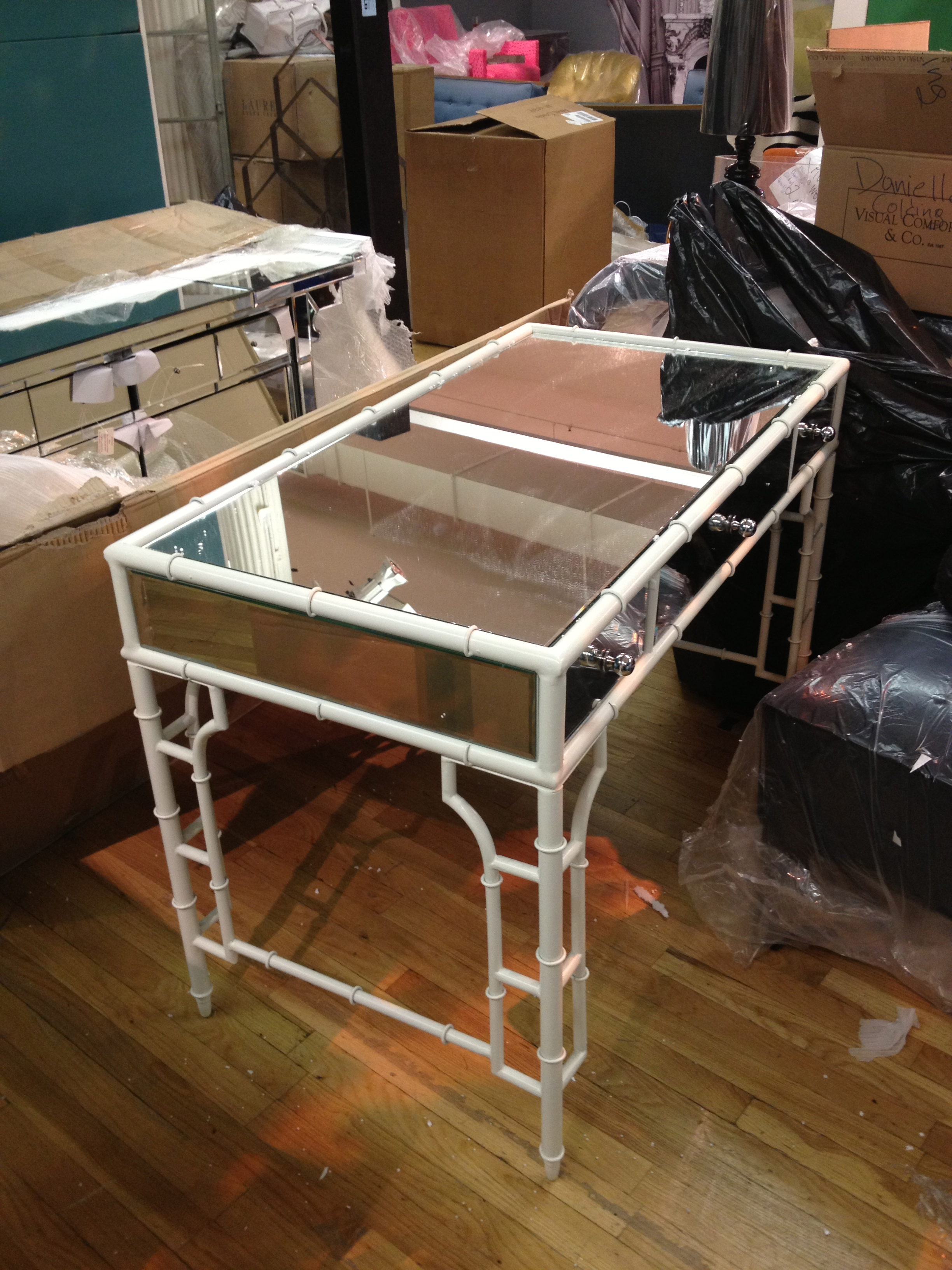 It all began with a vanity. Bungalow 5 was the first to say yes and with this vanity an idea was born.