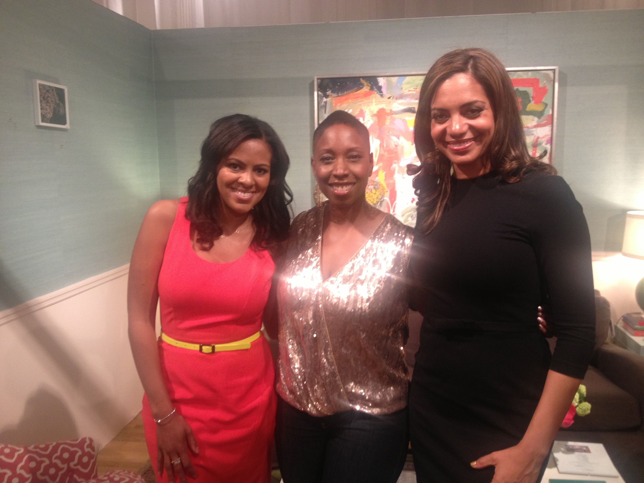 Nicole Gibbons, Malene Barnett, and me in Nicole's classic space. Amazing how so many relationships were solidified here.