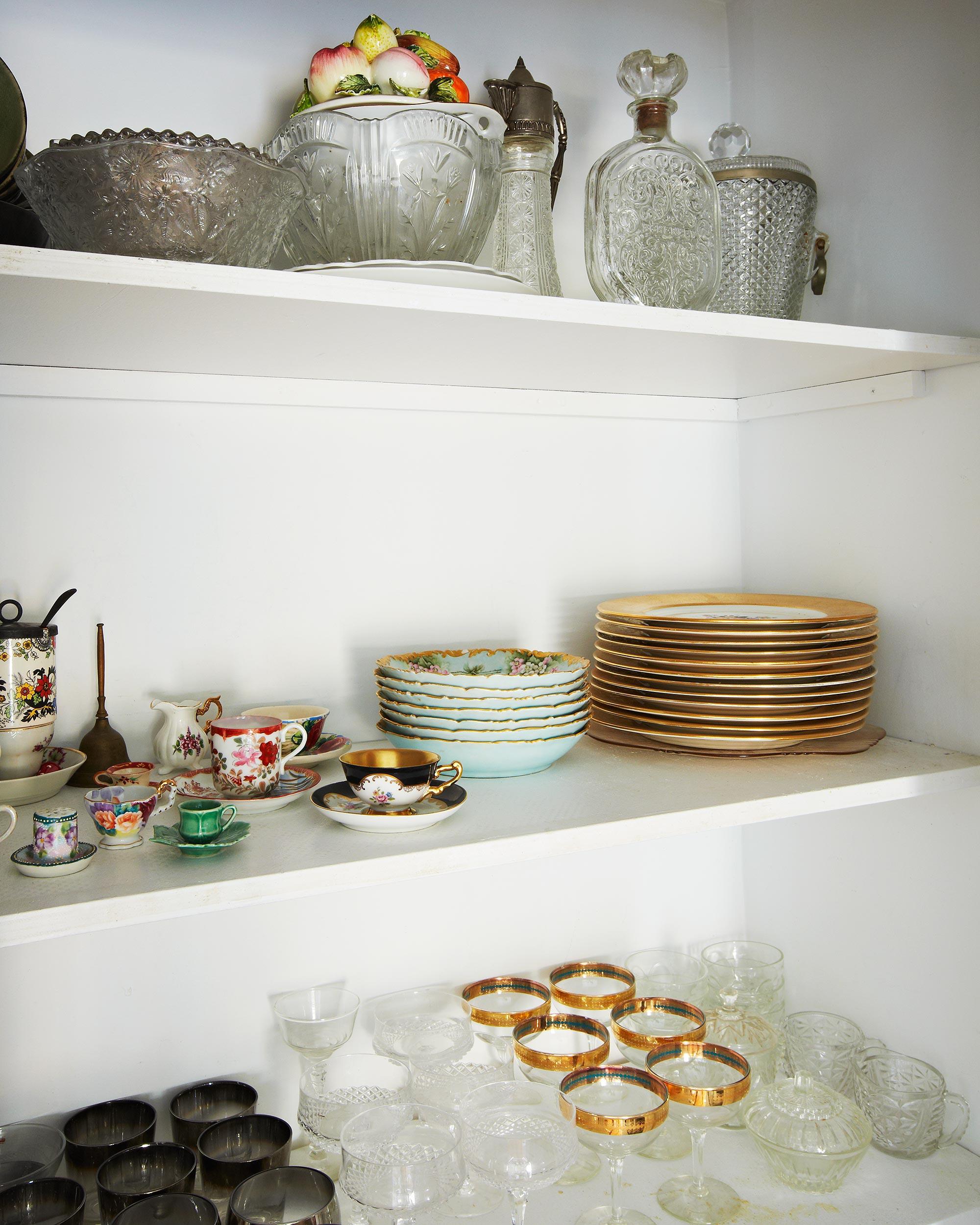 My kitchen pantry. Photoby James Ransom.