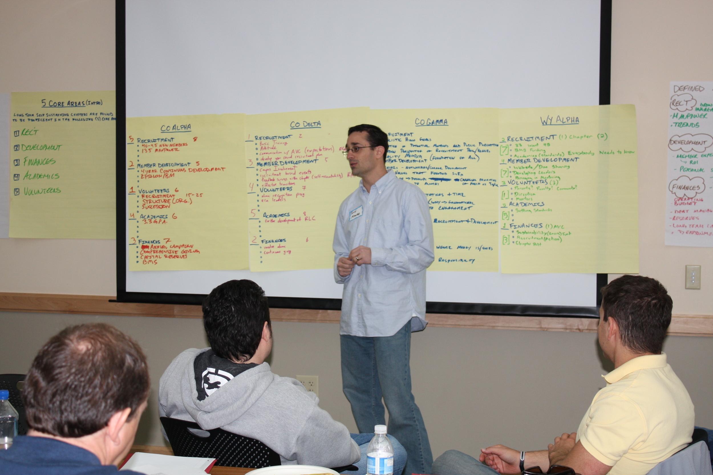 2009 Colorado-Wyoming Alumni Retreat - Tony Mauro '99