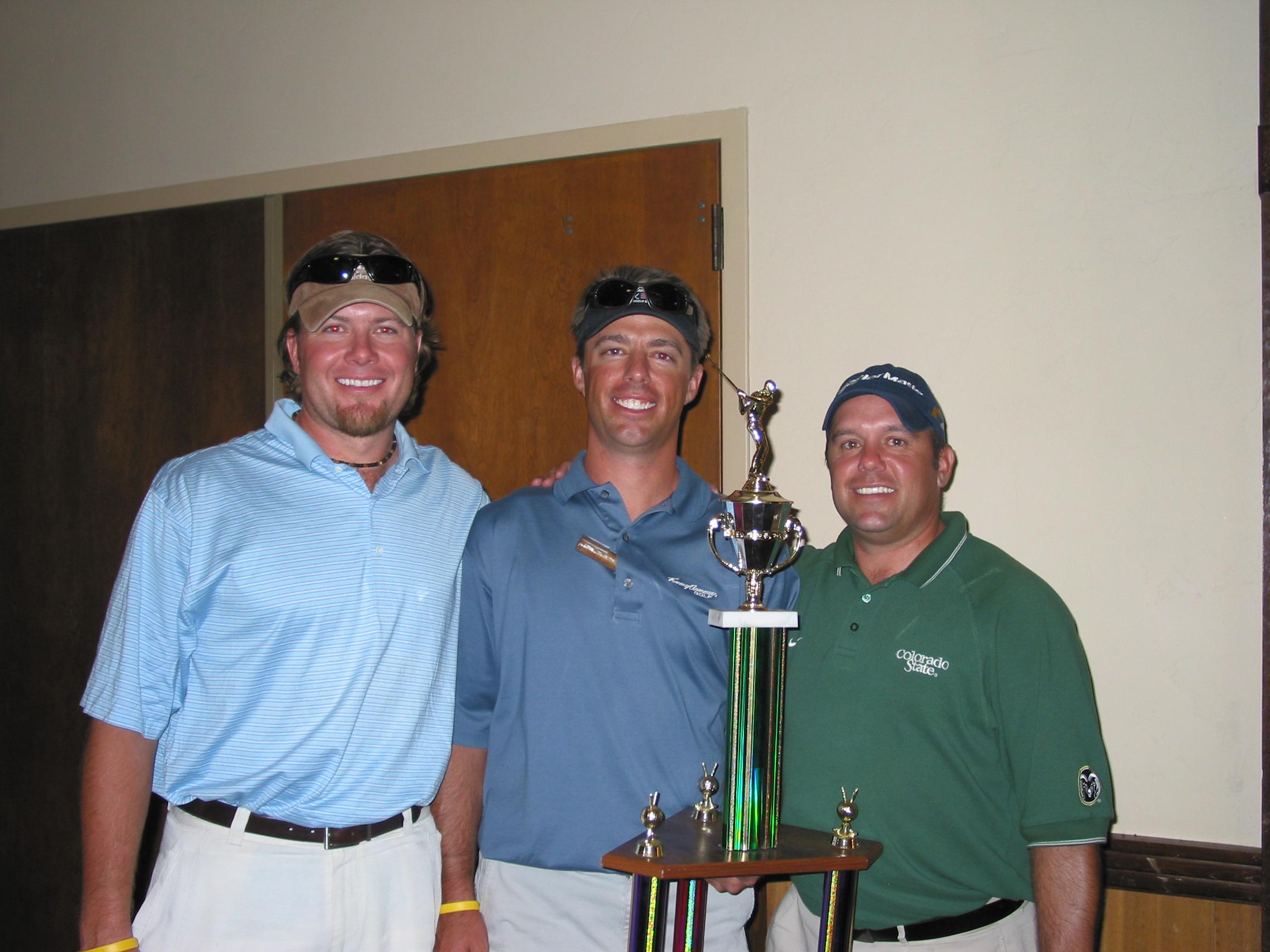 2005 SPECAT SigEp Golf Tournament Champions