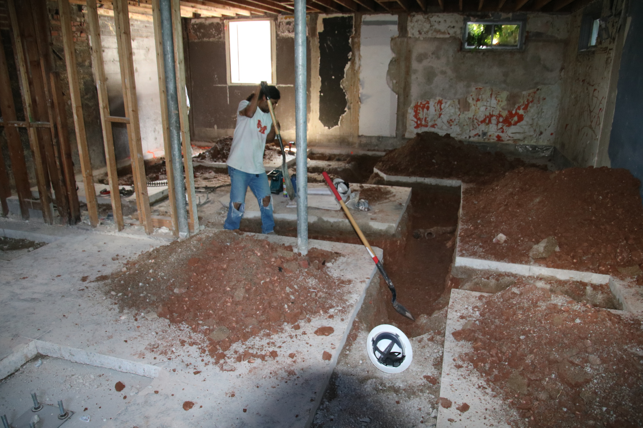 2015-08-03 plumbing trench west basement.JPG
