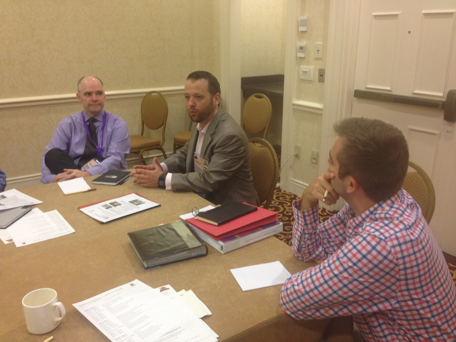 CSU SigEp meeting with SigEp National Housing