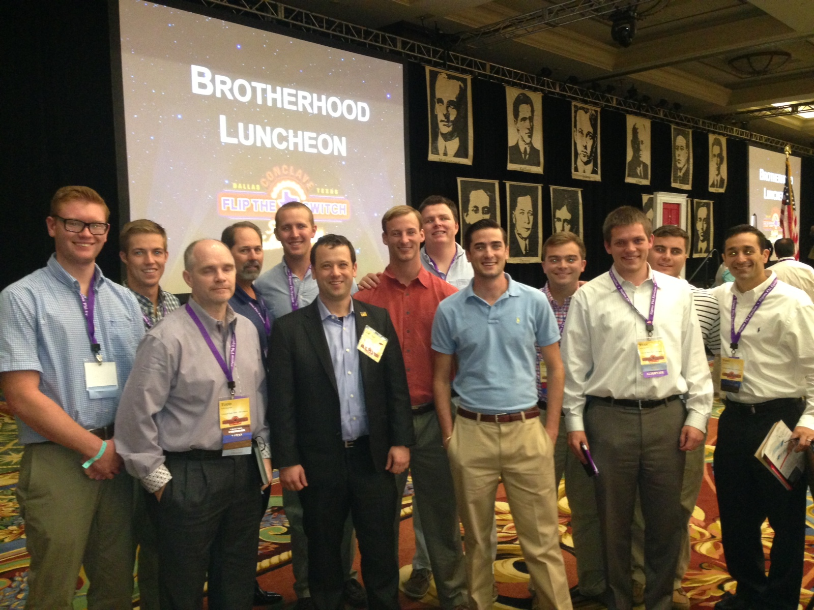 CSU SigEp Alumni & Undergrads at the Brotherhood Luncheon