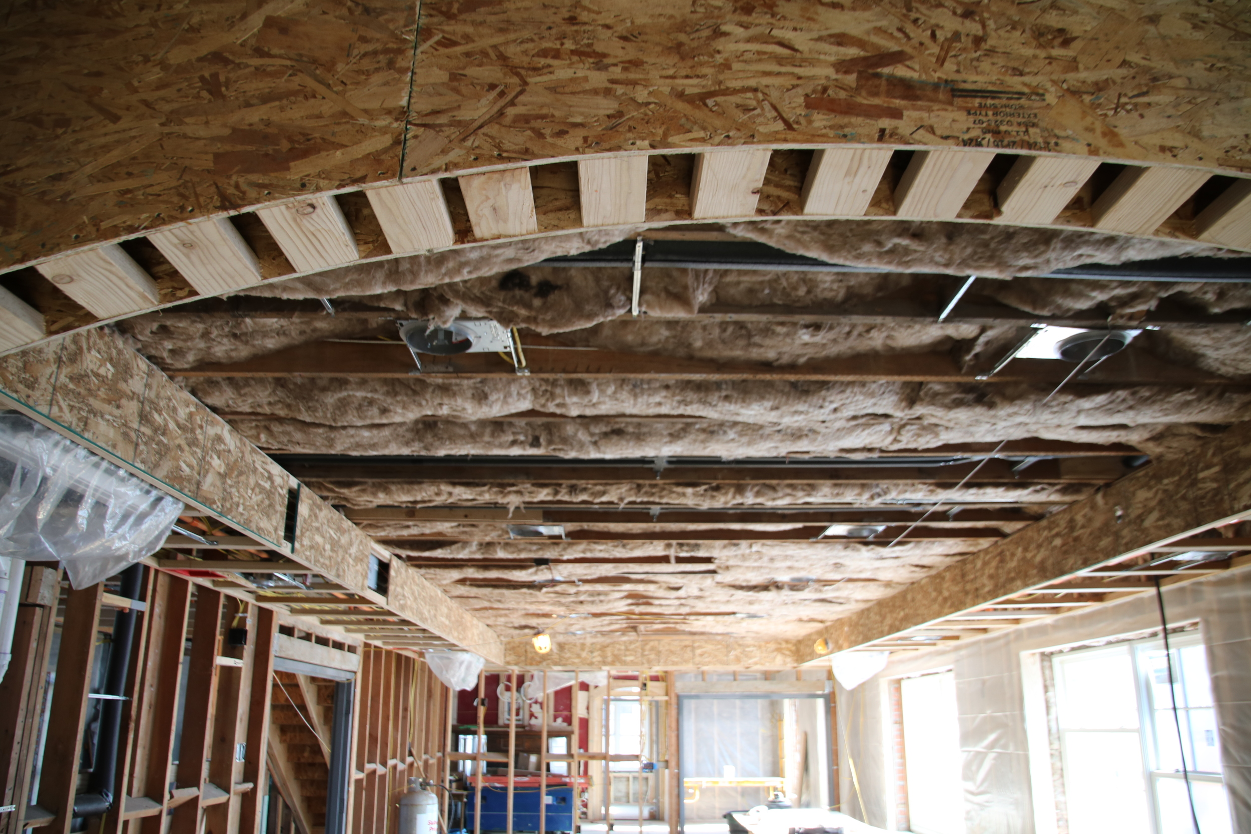 2015-11-18 sound insulation dining room ceiling.JPG