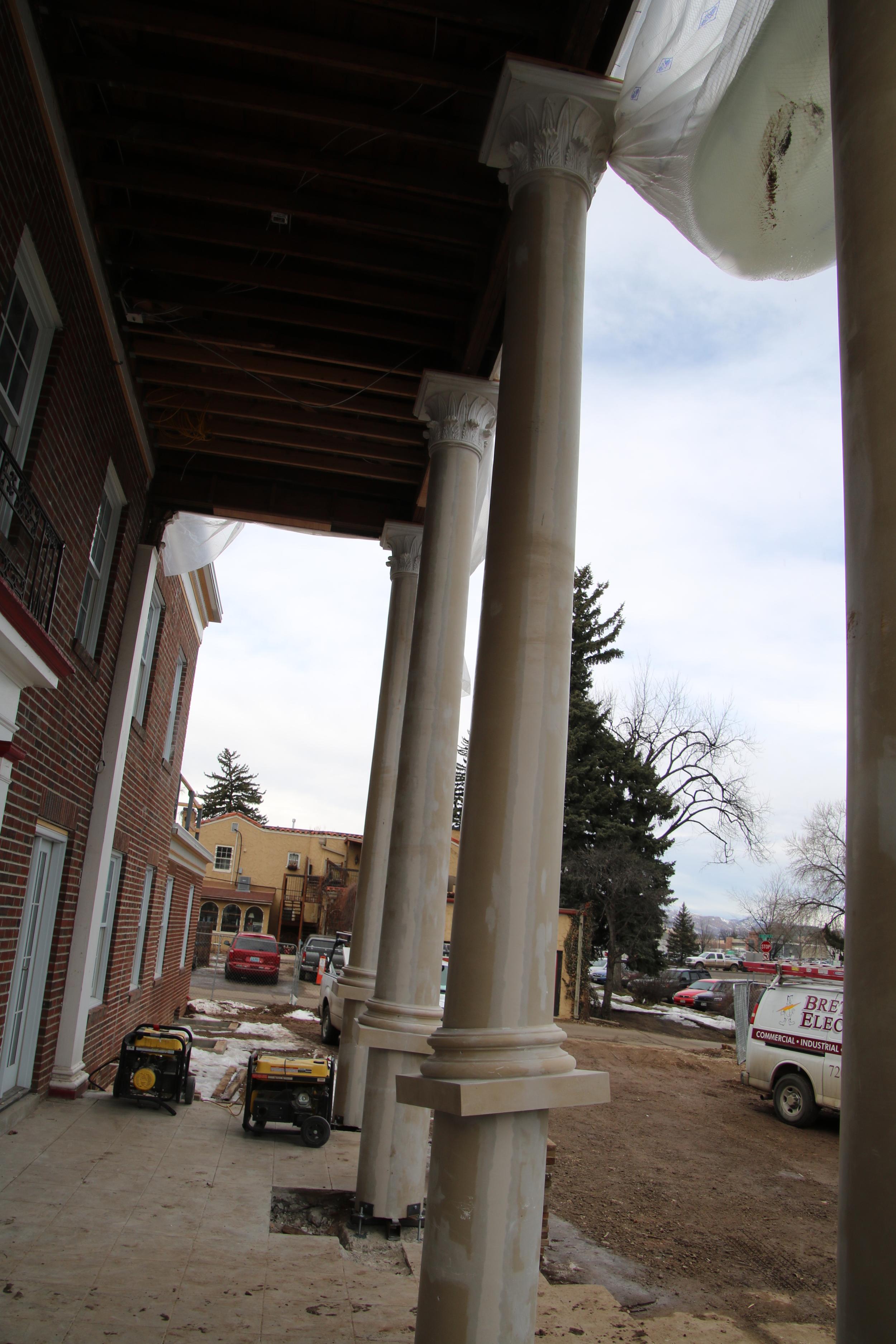 2016-02-15 new column installation.JPG