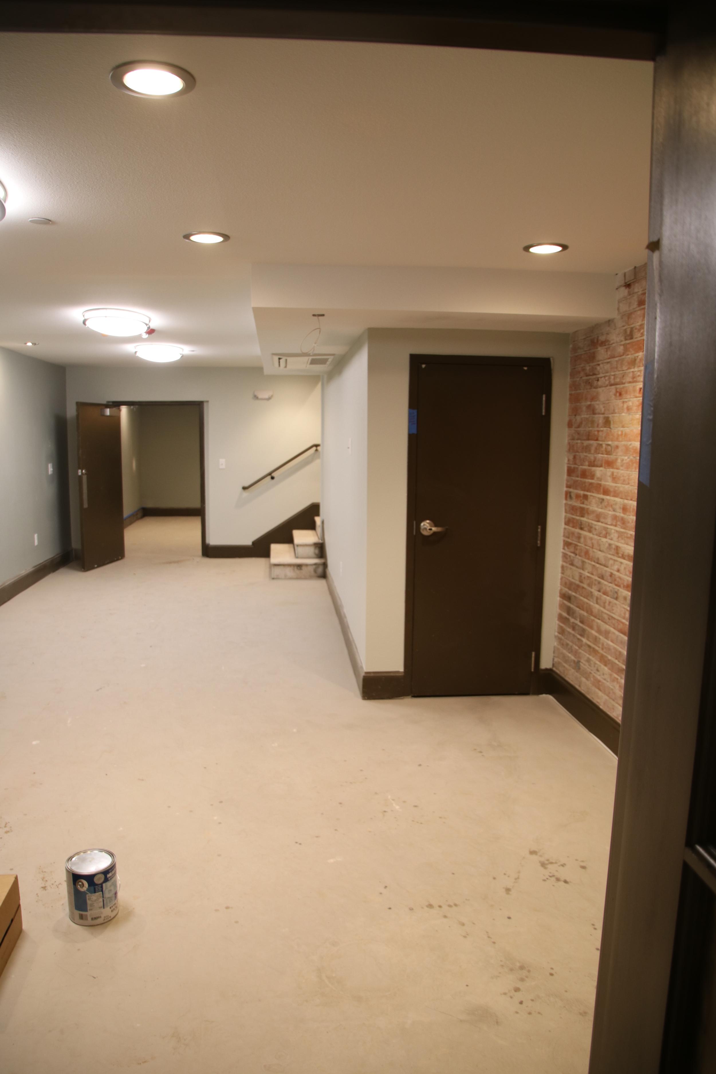 Basement rats lounge - facing chapter room