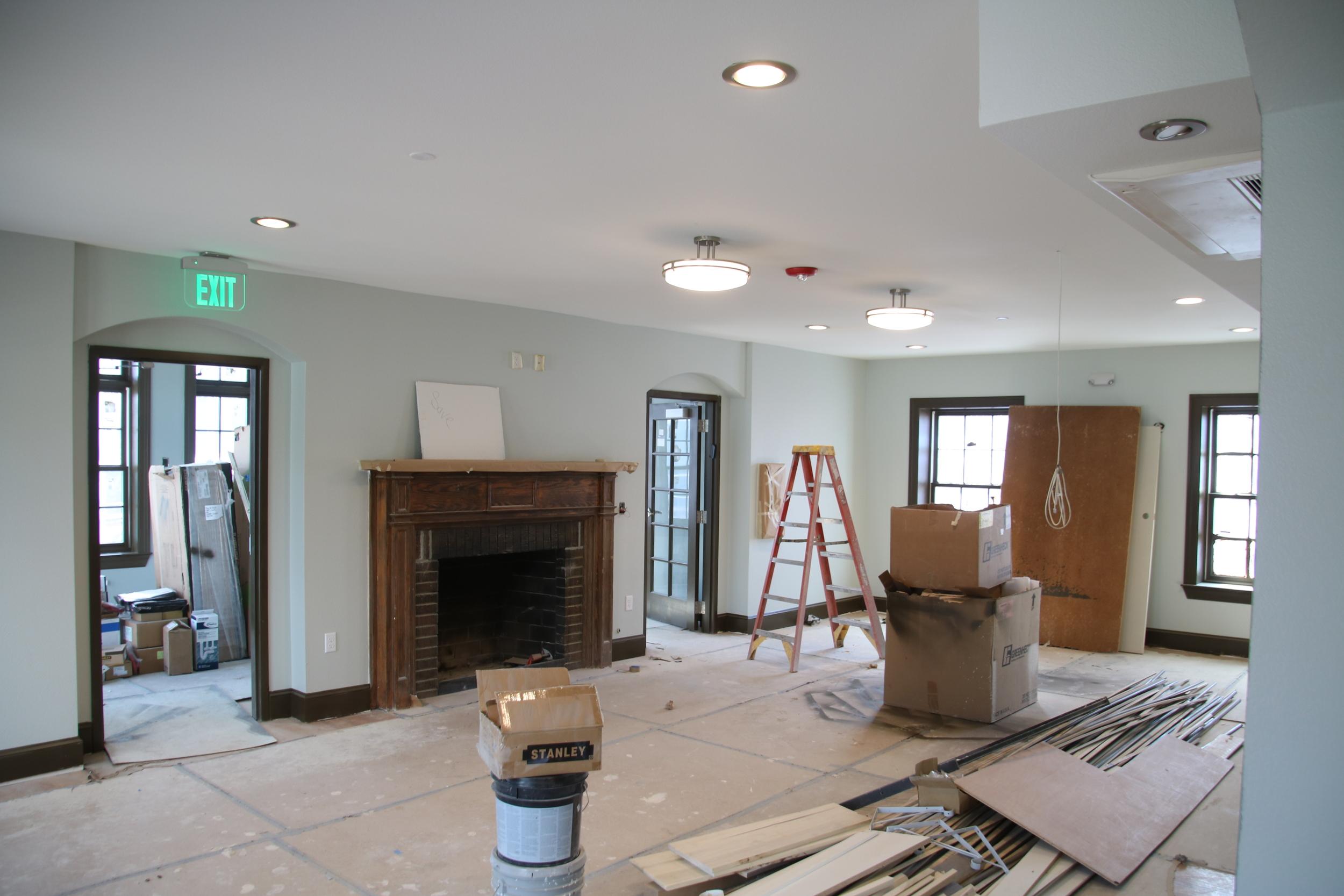 Living room - facing south