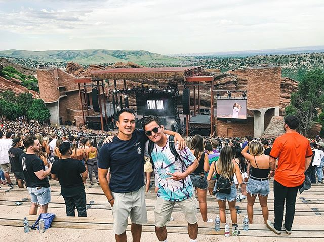 🏝Summer Vibes🏝 SigEps enjoying Red Rocks Szn🏜