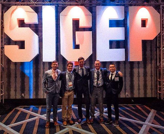 SigEps of Colorado Gamma took a trip to Houston for the Sigma Phi Epsilon national convention, Conclave! 🌇