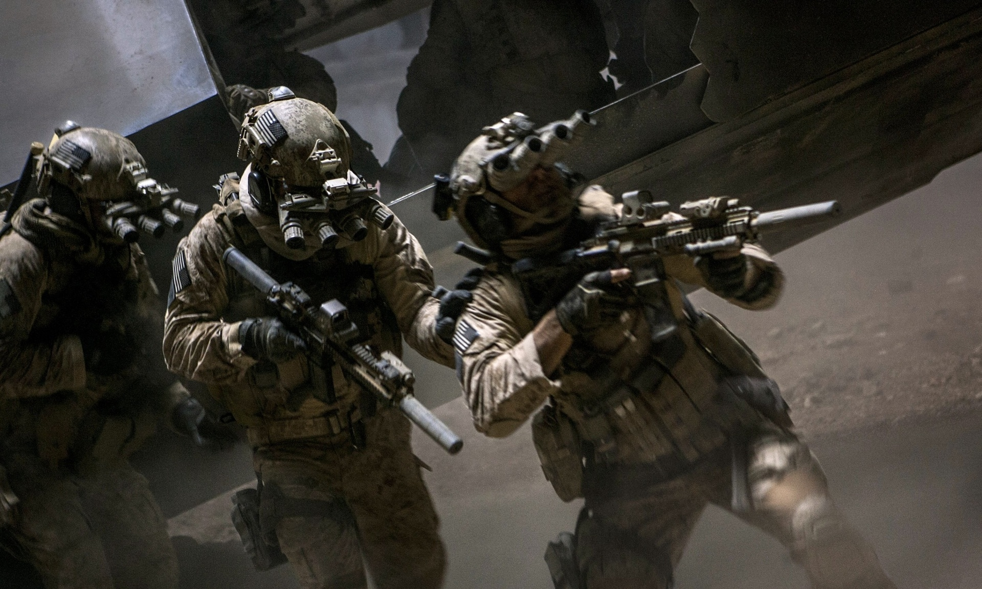 3D printed night-vision goggles used in  Zero Dark Thirty
