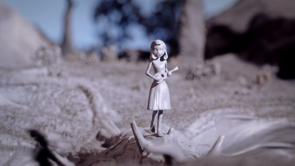 In the stop motion film  Chase Me, sets and characters were all 3D printed.