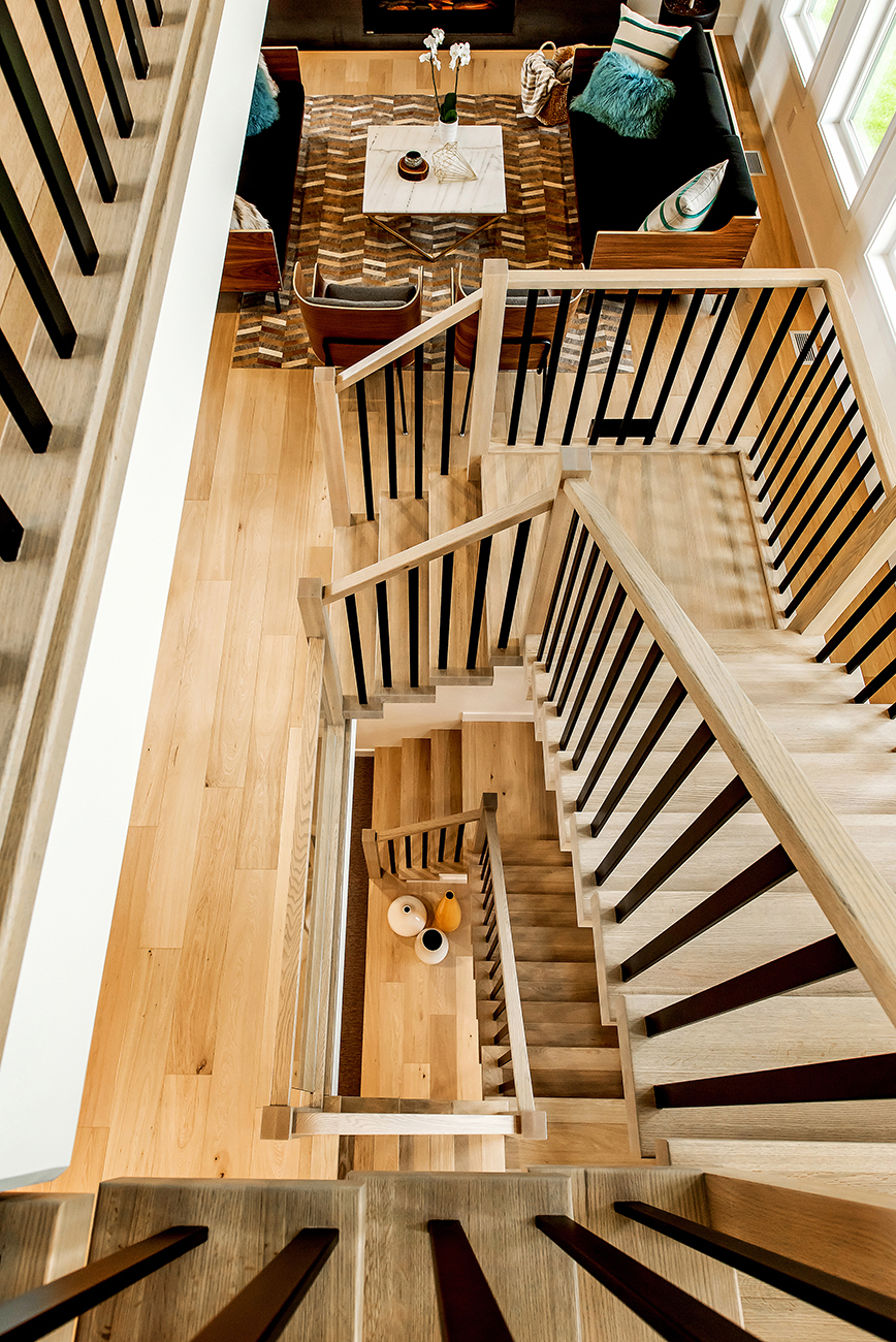 crafted banisters & stairs  -