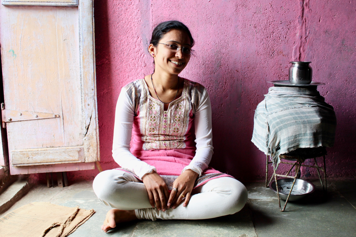 Komal can now support her family with her job in nursing.