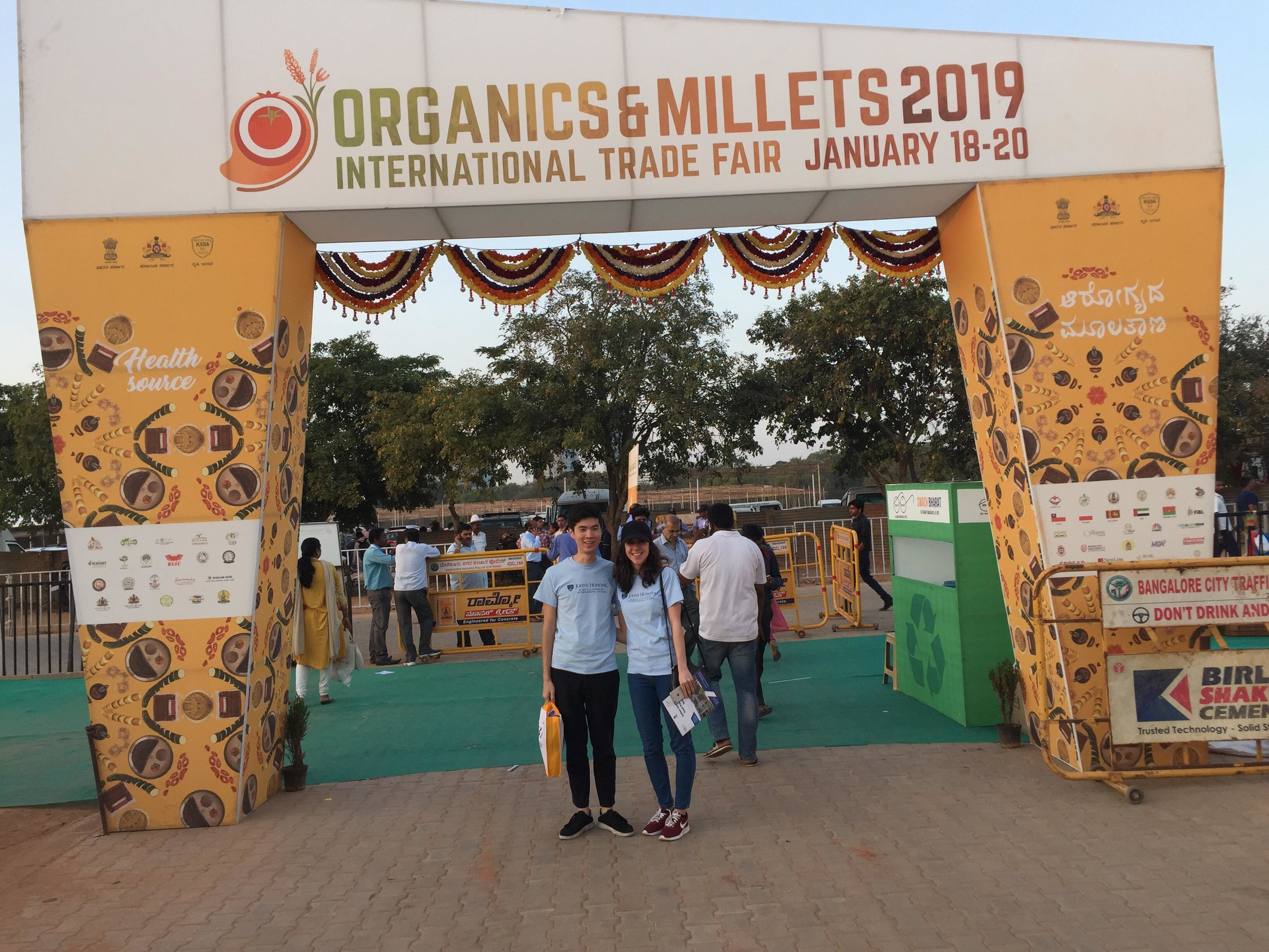 Don and Milena visit the Organics and Millets Conference 2019 to research new supply chain mechanisms and markets for millets