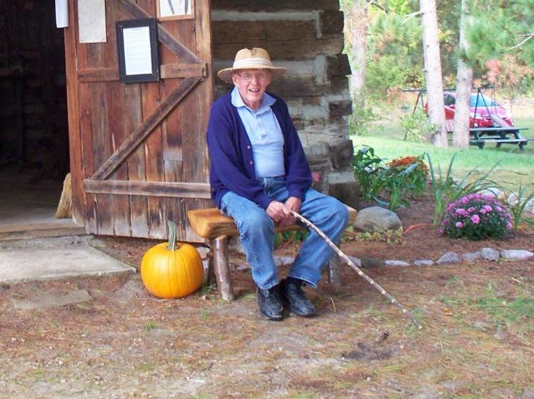 Bob Reed at the Reedsburg Area Historical Society